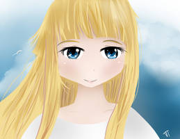 Hylia/Zelda Haganai Style by Nokami-san