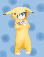 Chibi Pikachu Ciel by Nokami-san