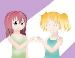Haruka and Yuu by Nokami-san