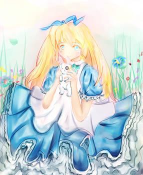 Deep in Wonderland...