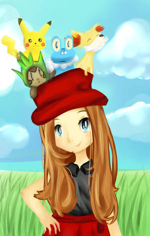Serena and Friends