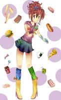 Food (Contest Entry) by Nokami-san
