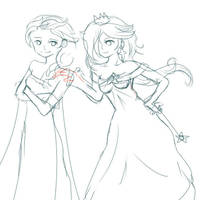 Elsa Rosalina Wip by Nokami-san