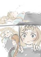 Comic sketch practice by Nokami-san