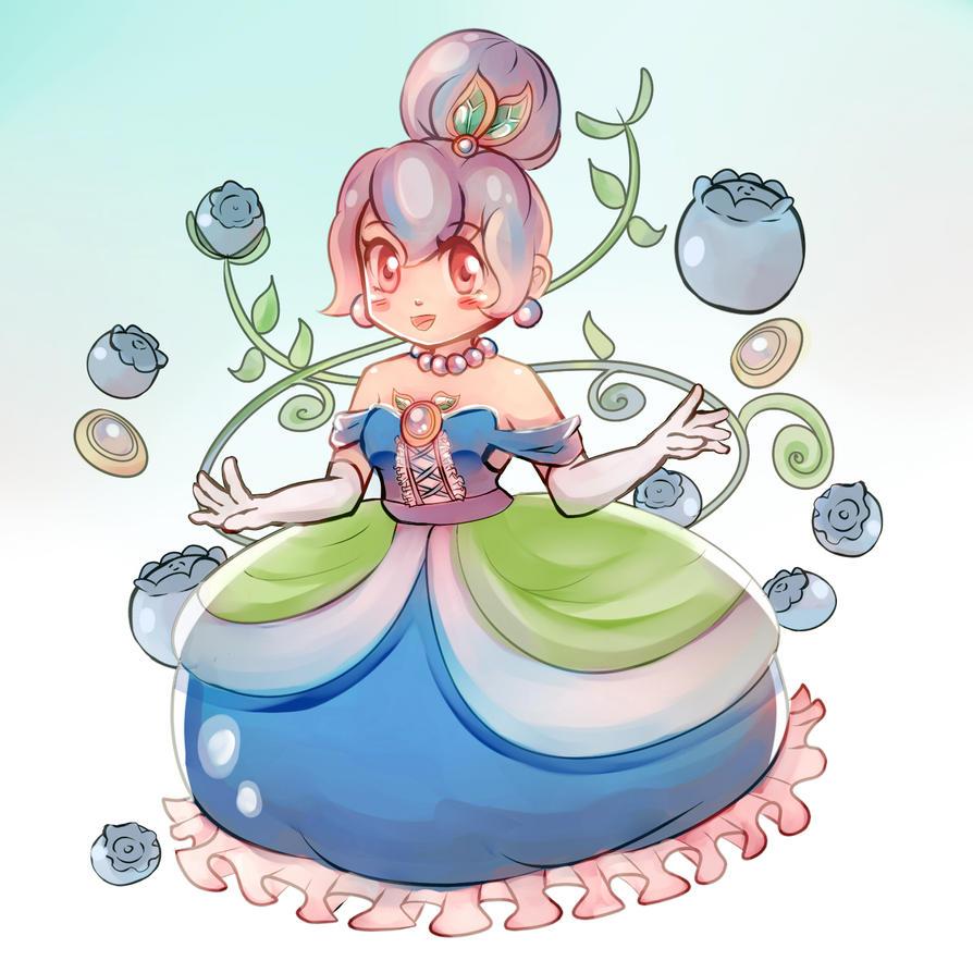 Blueberry Princess by Nokami-san