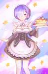 Kawaii Rem has Pancakes!