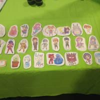 Artist Alley Stickers by Nokami-san