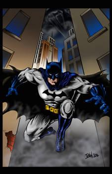 Batman - Coloured version