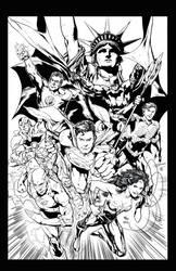 Justice League - Ivan Reis