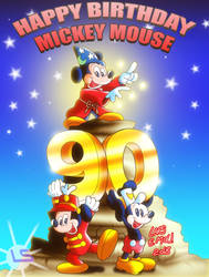90 Years Of Mickey Mouse by Lars99