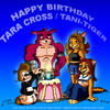 My b-day art for tani-tiger by Lars99