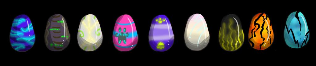Eggs - Surprise species by AdoptsByUs