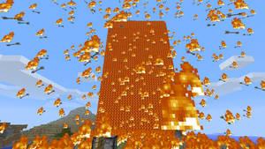 Minecraft - Fire Arrows