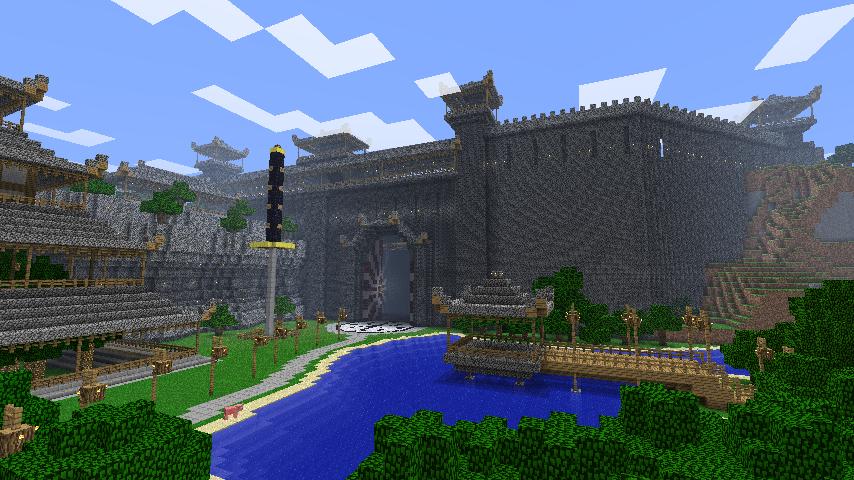 Minecraft   Tsuchi Iwa Castle By Ludolik ...