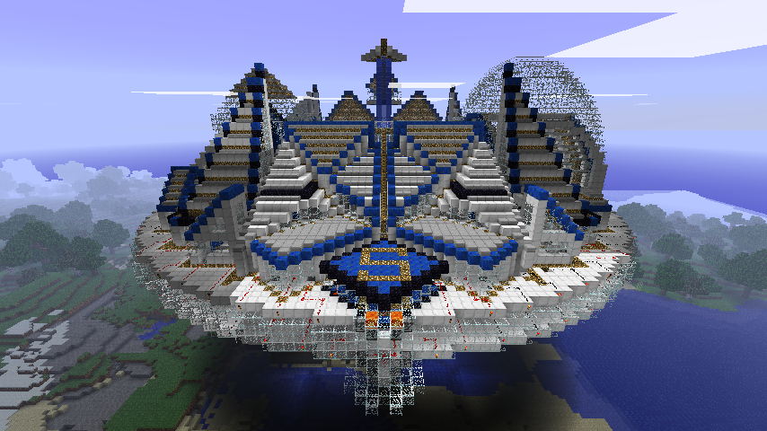 Minecraft - Flying Saucer by Ludolik on DeviantArt