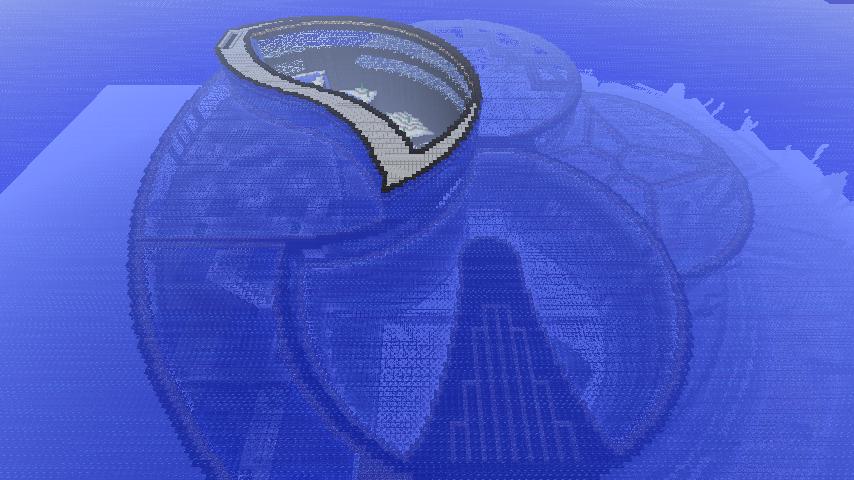 Minecraft - Underwater City by Ludolik