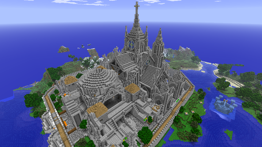 Minecraft - Cathedral of Azra' by Ludolik