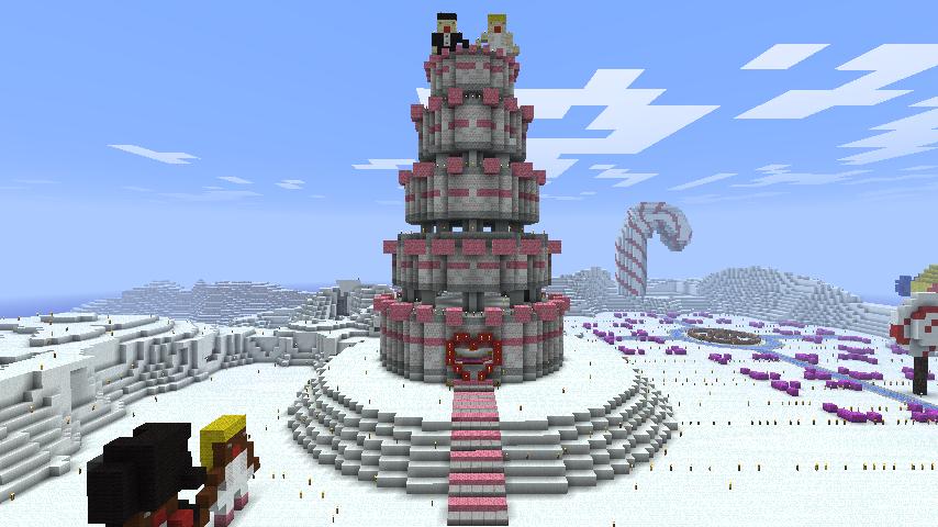 Minecraft - Wedding Cake