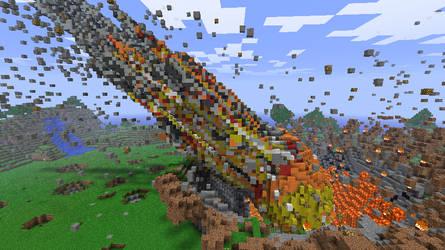 Minecraft - Moment of impact