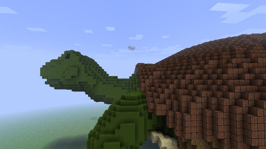 Minecraft - Turtle by Ludolik