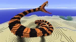Minecraft - Snake by Ludolik
