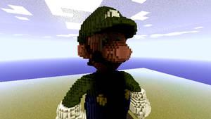 Minecraft - Luigi by Ludolik