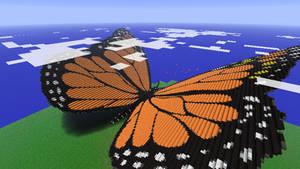 Minecraft - Butterfly by Ludolik