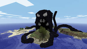 Minecraft - Sea Monster by Ludolik