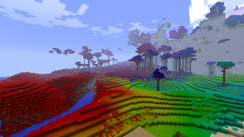 Minecraft colored biomes by ludolik on deviantart minecraft colored biomes by ludolik gumiabroncs Gallery
