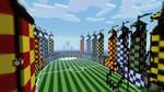 Minecraft - Quidditch Pitch