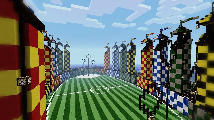 Minecraft quidditch pitch by ludolik on deviantart - Construcciones coolbuild ...