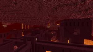 Minecraft - Nether Castle