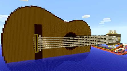 Minecraft - Guitar by Ludolik