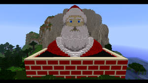 Minecraft - Santa by Ludolik