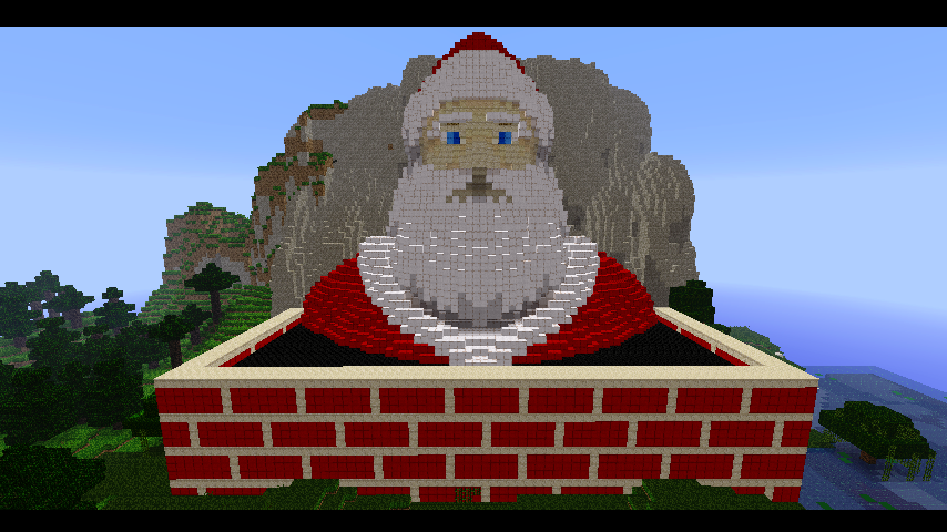 Christmas Minecraft Santa.Minecraft Santa By Ludolik On Deviantart