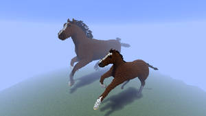Minecraft - Horses