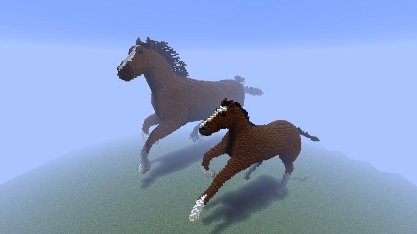 Minecraft - Horses by Ludolik