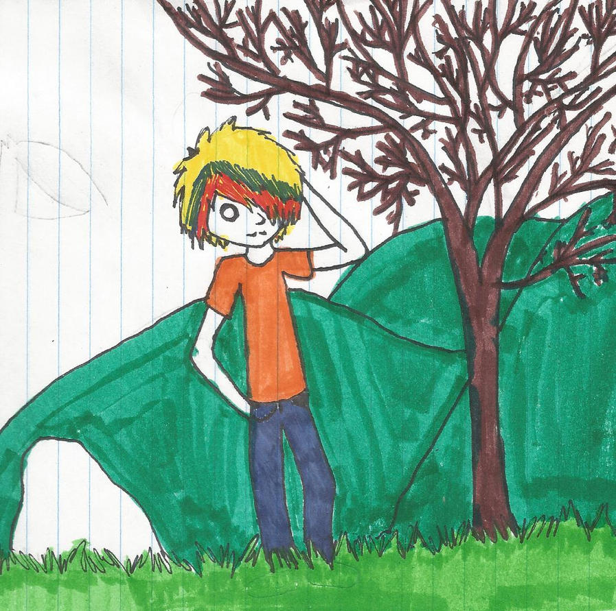 Guy and a tree by thisistheonlyme
