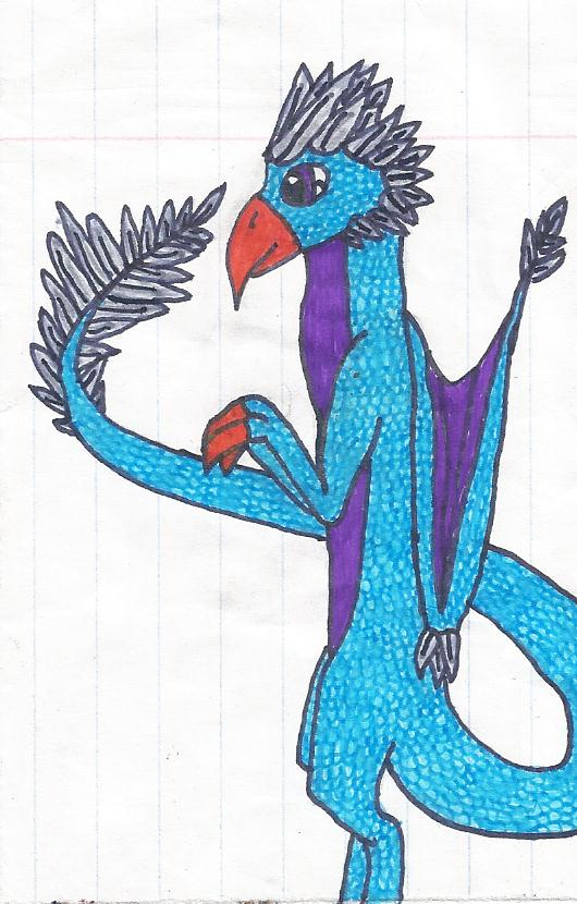 Bird Dragon by thisistheonlyme