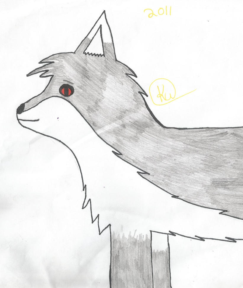 First Wolf by thisistheonlyme
