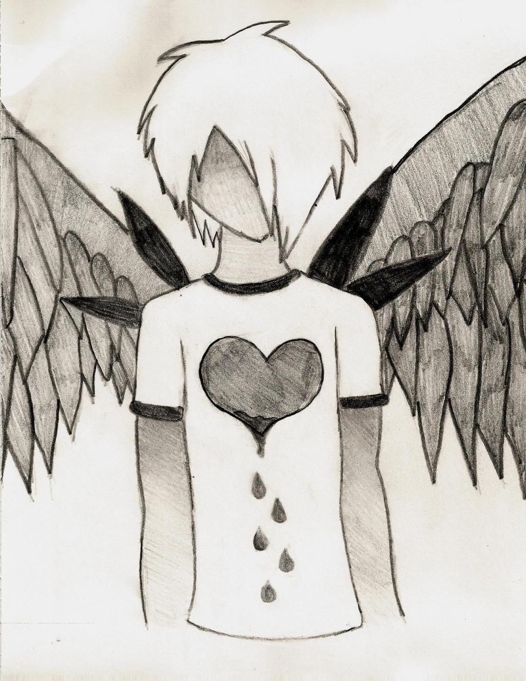 Emo Angel by thisistheonlyme