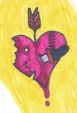 Heart Damage by thisistheonlyme