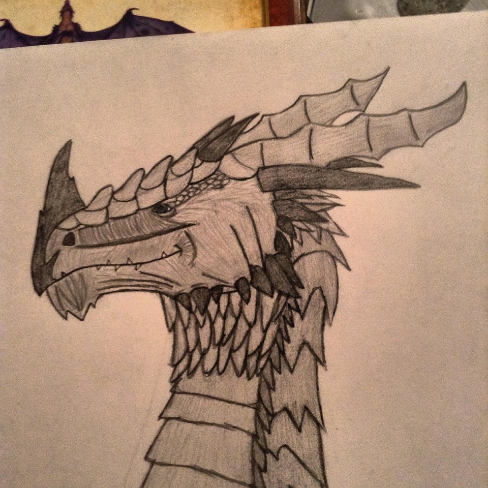 dragon head by thisistheonlyme
