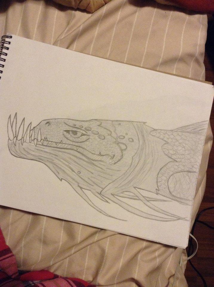 sea dragon by thisistheonlyme