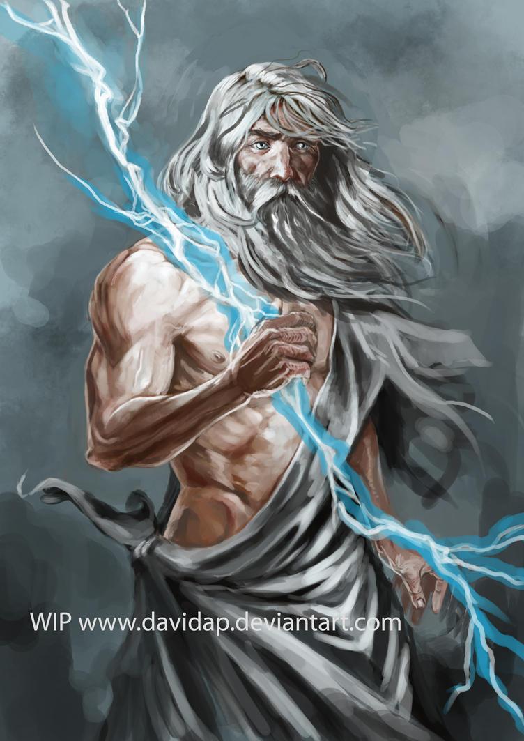 WIP Zeus by DavidAPJupiter Roman God Symbols