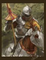 Knight by DavidAP