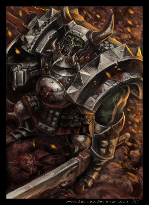 Allupin Black Ork by DavidAP