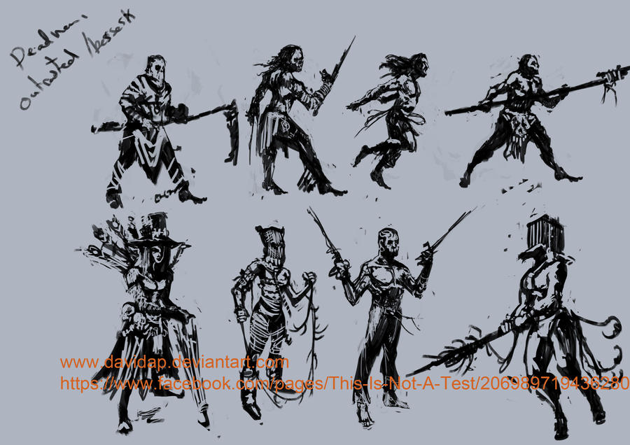 TNT Deadman concepts by DavidAP