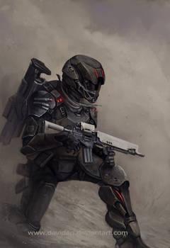 Dust soldier