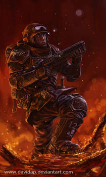 Imperial Guard: Sargent Banes